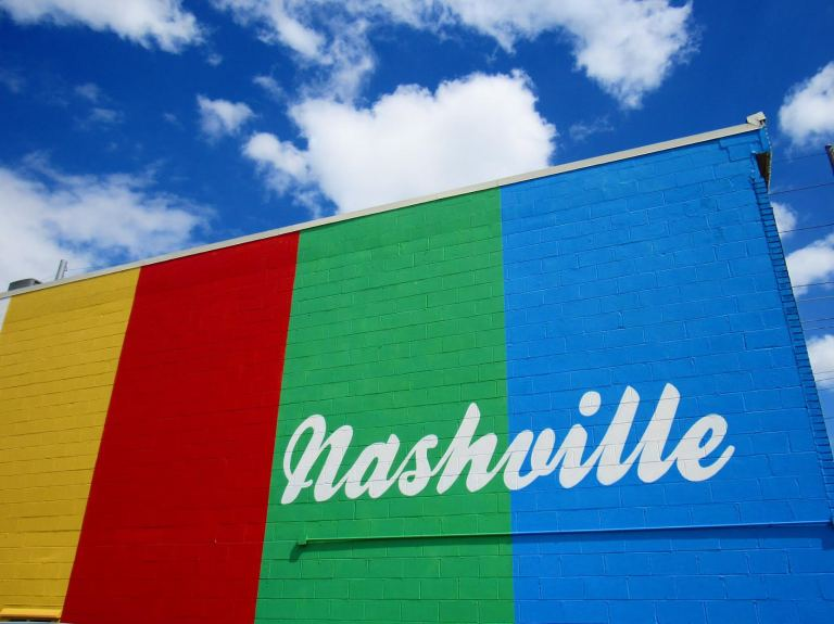 Nashville colorful
